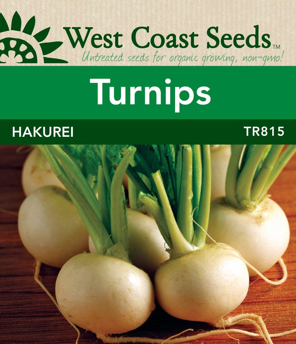Hakurei F1 Turnip Seeds