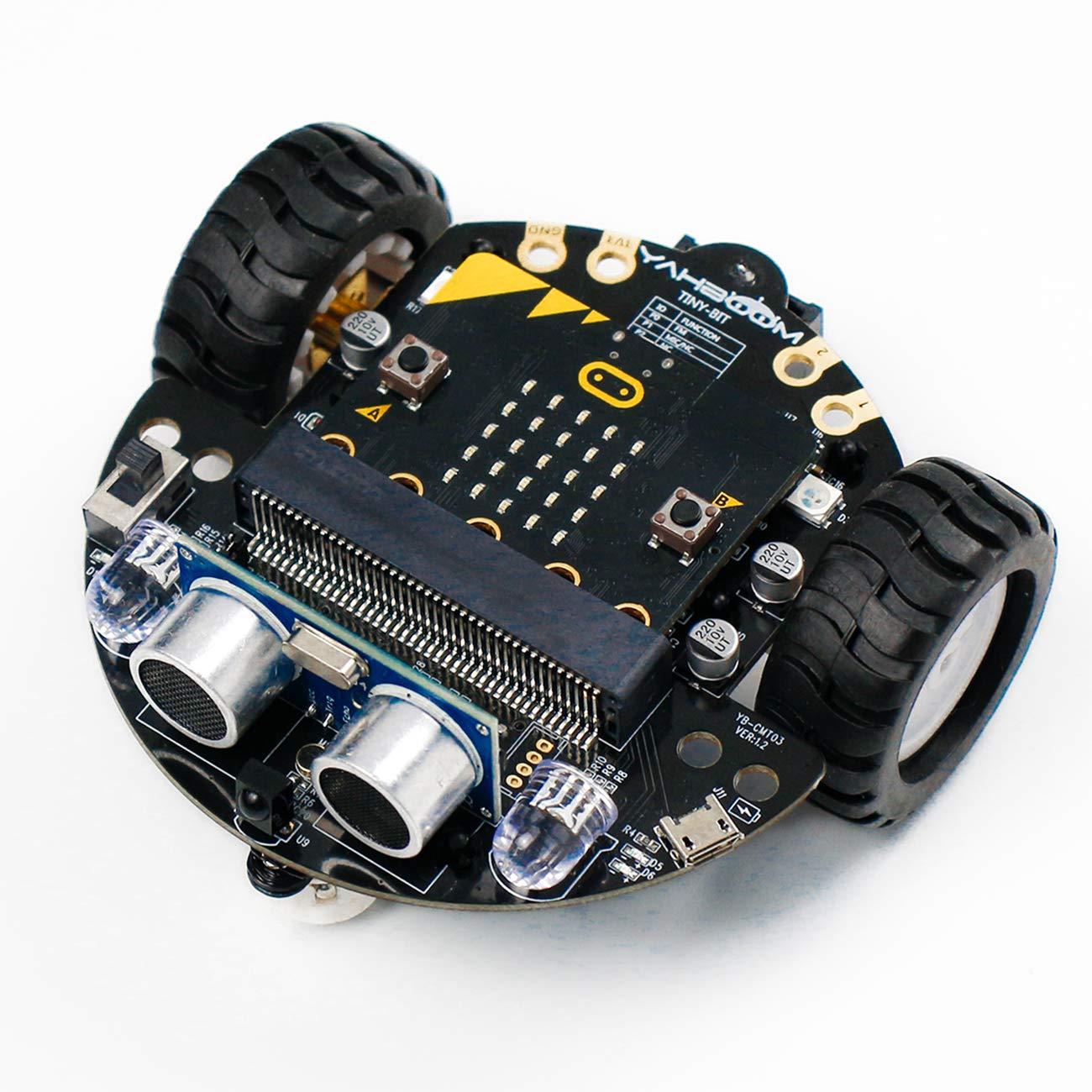 Robot Educativo para armar y programar en Microbit Yahboom