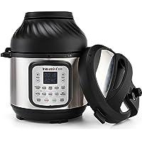 Instant Pot Duo Crisp 5,7 l + Air Fryer 11-in-1 elektrische multikoker – snelkookpan, heteluchtfriteuse, slow cooker…