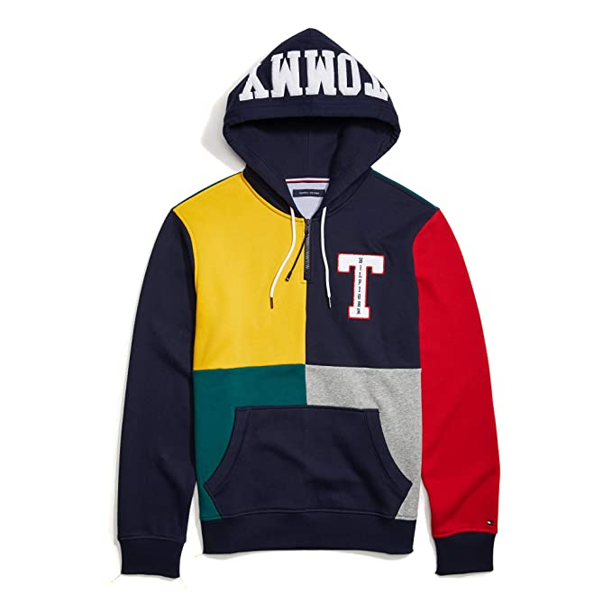 Tommy Hilfiger Men's Adaptive Hoodie Sweatshirt with