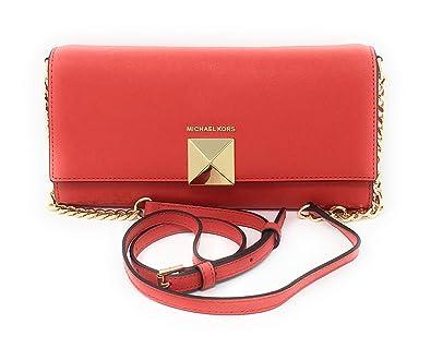 3e611f4d3426 Michael Kors Karla Clutch and Cross Body Dark Sangria  Handbags  Amazon.com