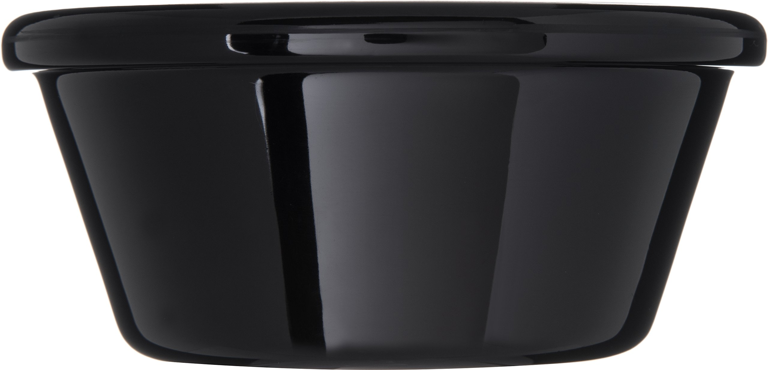 Carlisle 4312603 SAN Smooth Ramekin, 6 oz Capacity, 1.80'' Height, Black (Case of 48) by Carlisle (Image #4)