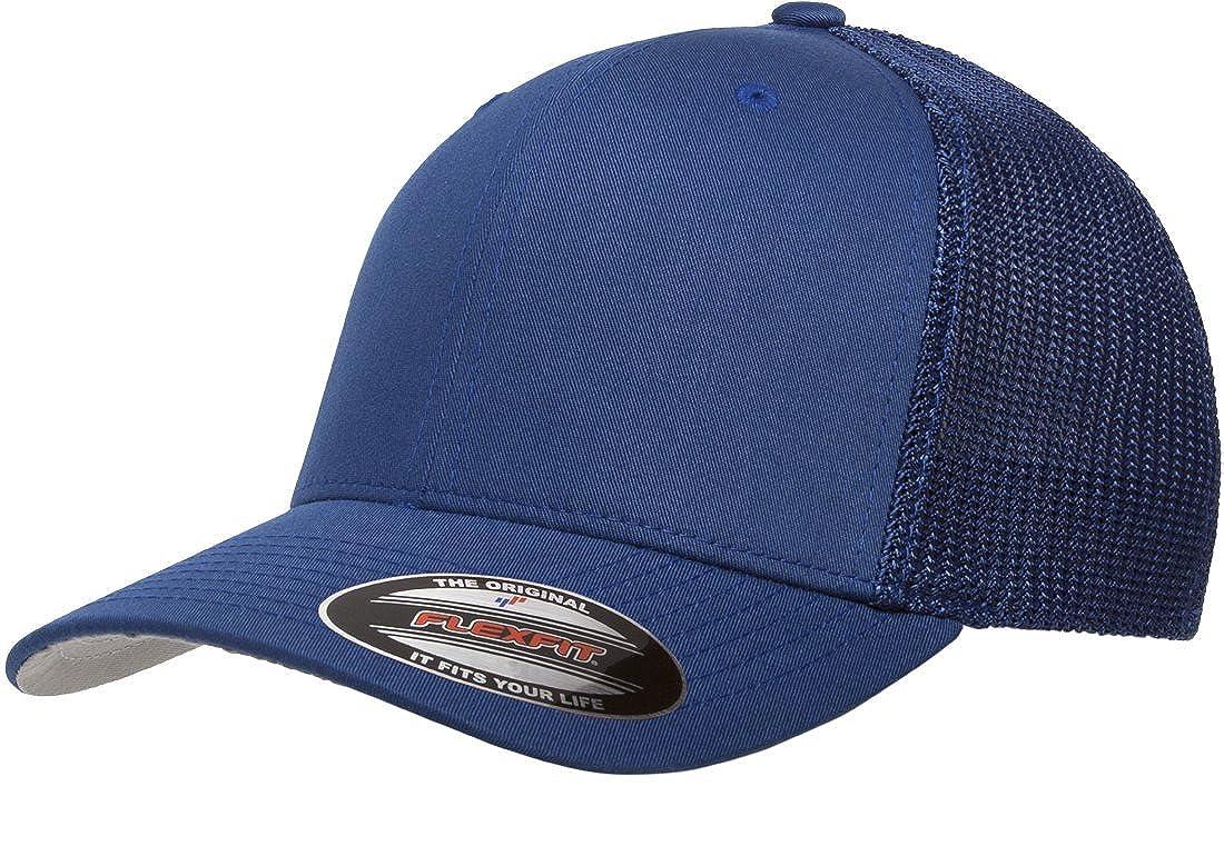 2638380304f Flexfit 6-Panel Structured Trucker Cap at Amazon Men s Clothing store