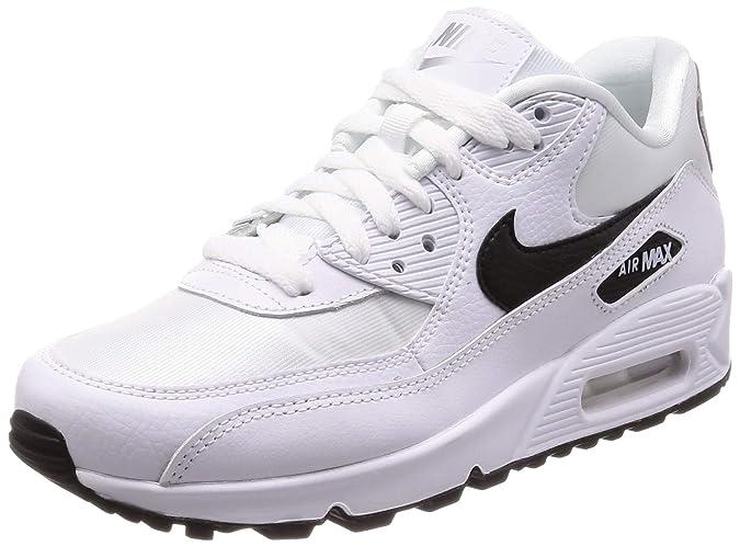 25f96634a2 Nike Damen WMNS Air Max 90 Gymnastikschuhe, Bianco/Grigio/Nero: Amazon.de:  Schuhe & Handtaschen