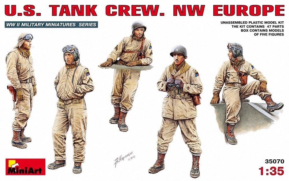 Miniart 1:35 US Tank Crew - MIN35070 NW Europe