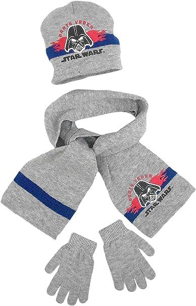 Star Wars Design Boys Stripe Detail Knitted Gloves
