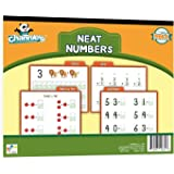 Channie's Neat Numbers Visual Workbook 80 Pages 11x8.5 inch Pre-K- K