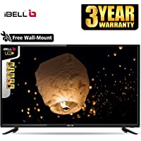 iBELL 80 cm (32 Inches) HD Ready LED TV IBLLE320H (Black) (2019 Model)