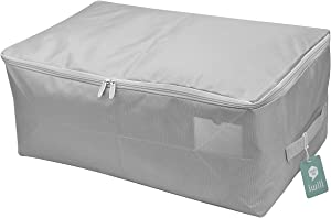 iwill CREATE PRO Comforters, Pillows, Blankets, Duvets Soft Storage Bag,Water Proof Fabric, Light Grey