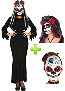 Disfraz de Catrina Vestido Negro