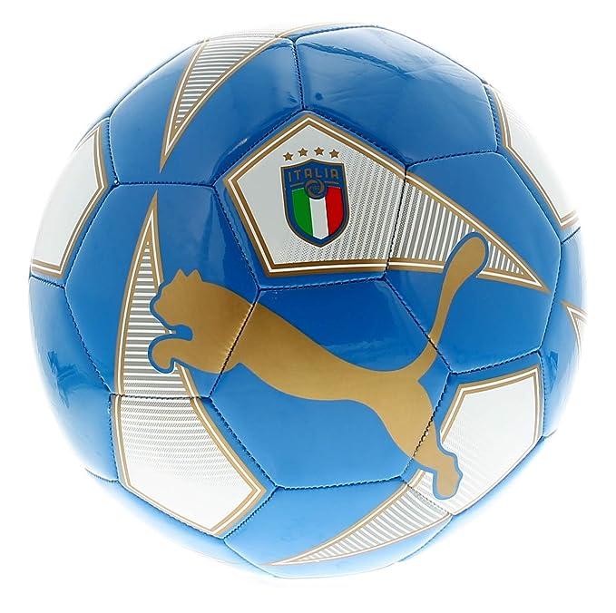 54c8bb10c Puma Pallone fan World Cup licensed Azzurro 18/20 Italia: Amazon.it: Sport  e tempo libero
