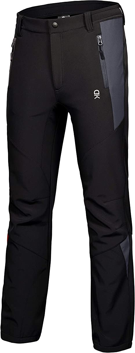 Little Donkey Andy Women/'s Winter Hiking Ski Snowboarding Pants Fleece Lined and Water Repellant LDA Softshell Pants