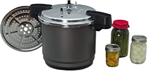 Granite Ware 3 in 1 Pressure Canner, Pressure Cooker, or Pressure Steamer (12 qt.)