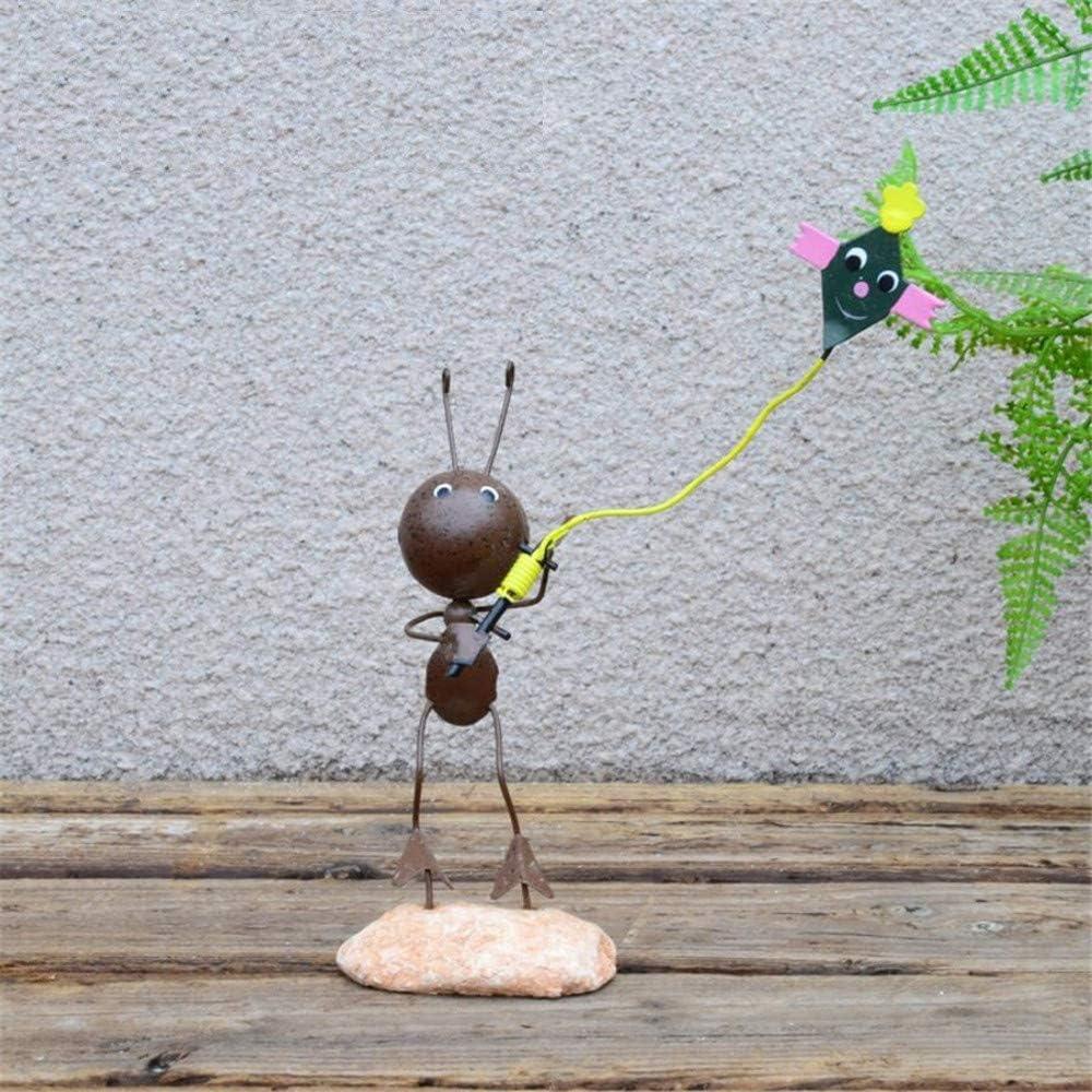 Creativa Linda Hormiga de Hierro Forjado pequeños Adornos Decoraciones para el hogar Sala de Estar Sala de niños Muebles de gabinete TV TV