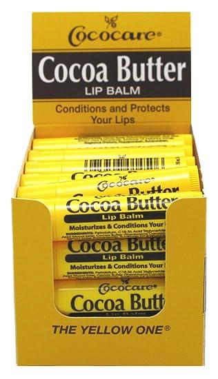 COCOCARE Lip Balm, Cocoa Butter, 0.15 Ounce