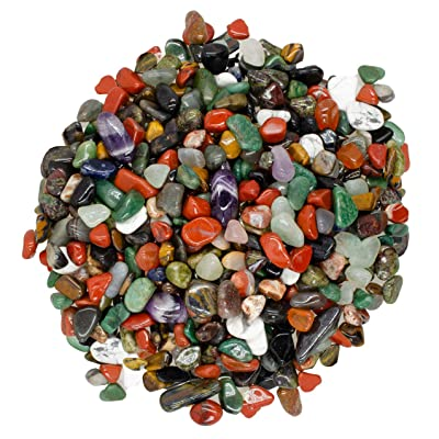 -Beautiful Polished Rocks! Size #4 Digging Dolls: 2 lbs Tumbled Unakite Stones from Africa 0.40 to 0.60 avg