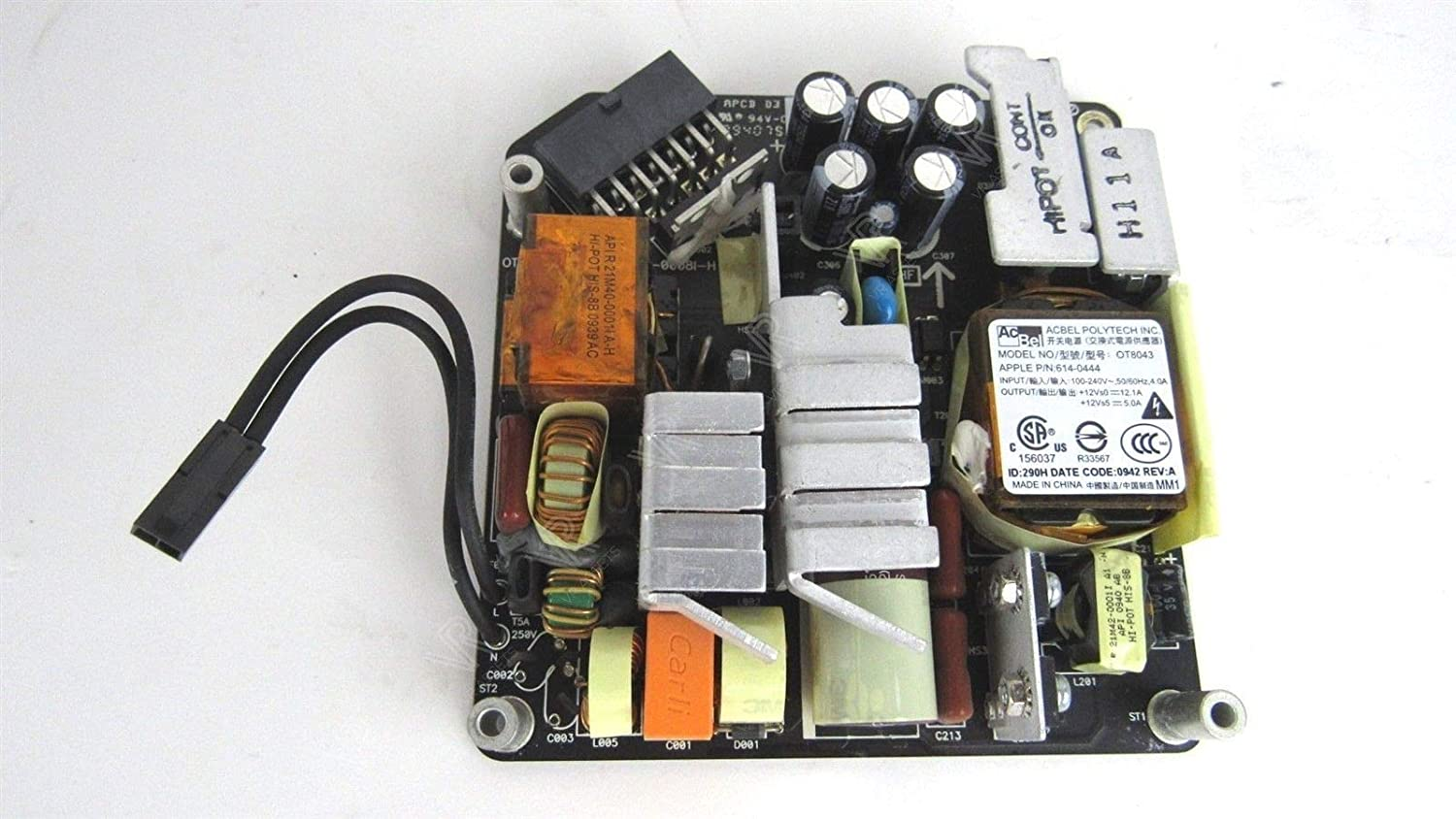 ADP-200DFB For Apple IMAC A1311 21.5 Power Supply 614-0444 614-0445 205W