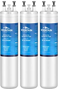 Mountain Flows ULТRAWF Compatible Refrigerator Water Filter Replacement Pure Source Ultra, 9999, water filter 3 pack