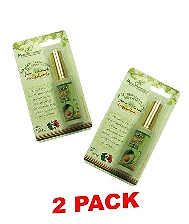 2 Paquetes de Rimel Hueso de Aguacate 13 Gr