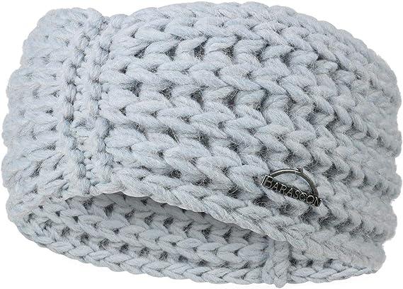 Barascon Wool Mix Stirnband Headband Ohrenschutz Ohrenw/ärmer Damen Made in Italy Herbst-Winter