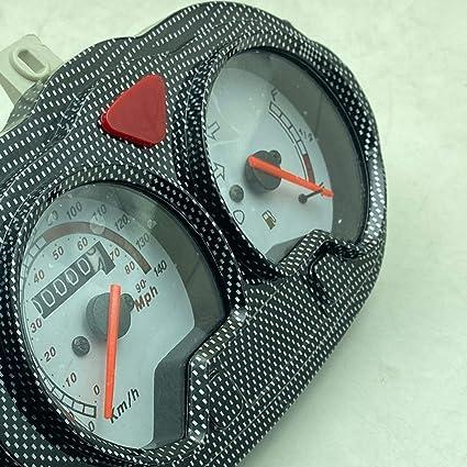 D Dolity 1 Stück Tachometer Dash Instrument Roller Geschwindigkeitsmesser Gas Messgerät Auto