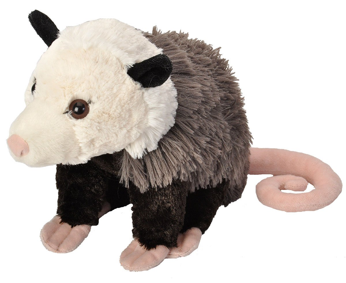 Wild Republic Opossum Plush Stuffed Animal Plush Toy Gifts for Kids Cuddlekins 12 Inches