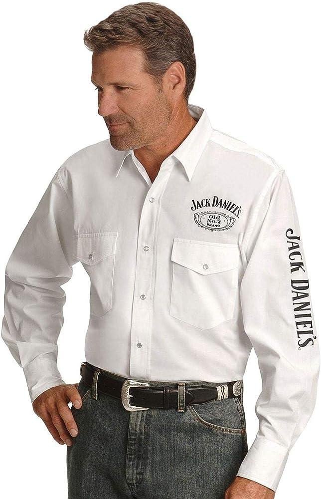 Jack Daniels Mens Daniels Logo Rodeo Cowboy Shirt: Amazon.es: Ropa y accesorios