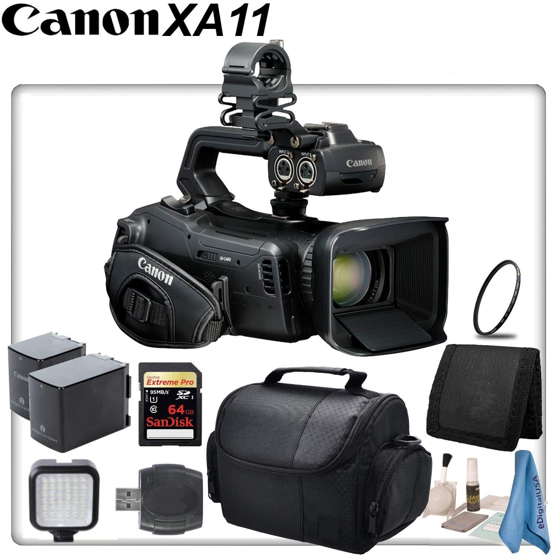 Canon XA11 Compact Full HD Camcorder Starter Bundle by Canon Bundles (Image #1)