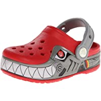 Crocs Lights Robo Shark, Zuecos Niños