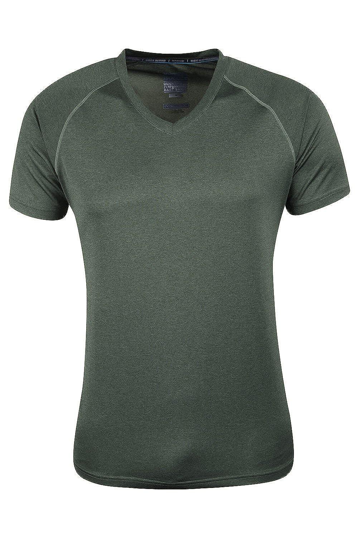 Mountain Warehouse Agra Herren-T-Shirt mit V-Ausschnitt