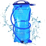 AONIJIE 1L Hydration Bladder Insulated 2 Liter Water Reservoir 1.5L/3L Water Bladder Bag BPA Free Hydration Pack Bladder for Hiking Biking Climbing Cycling Running
