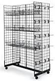 Only Hangers Gridwall Panel Display Fixture with