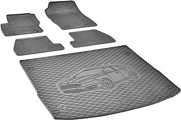 Passende Gummimatten Und Kofferraumwanne Set Geeignet Für Ford Focus Turnier 2011 2018 Auto