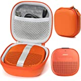 Bright Orange Protective Case for Bose SoundLink Micro Bluetooth Speaker, Best Color and Shape Matching, Featured Secure…