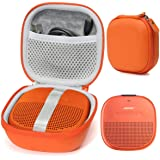 Bright Orange Protective Case for Bose SoundLink Micro Bluetooth Speaker, Best Color and Shape Matching, Featured Secure and