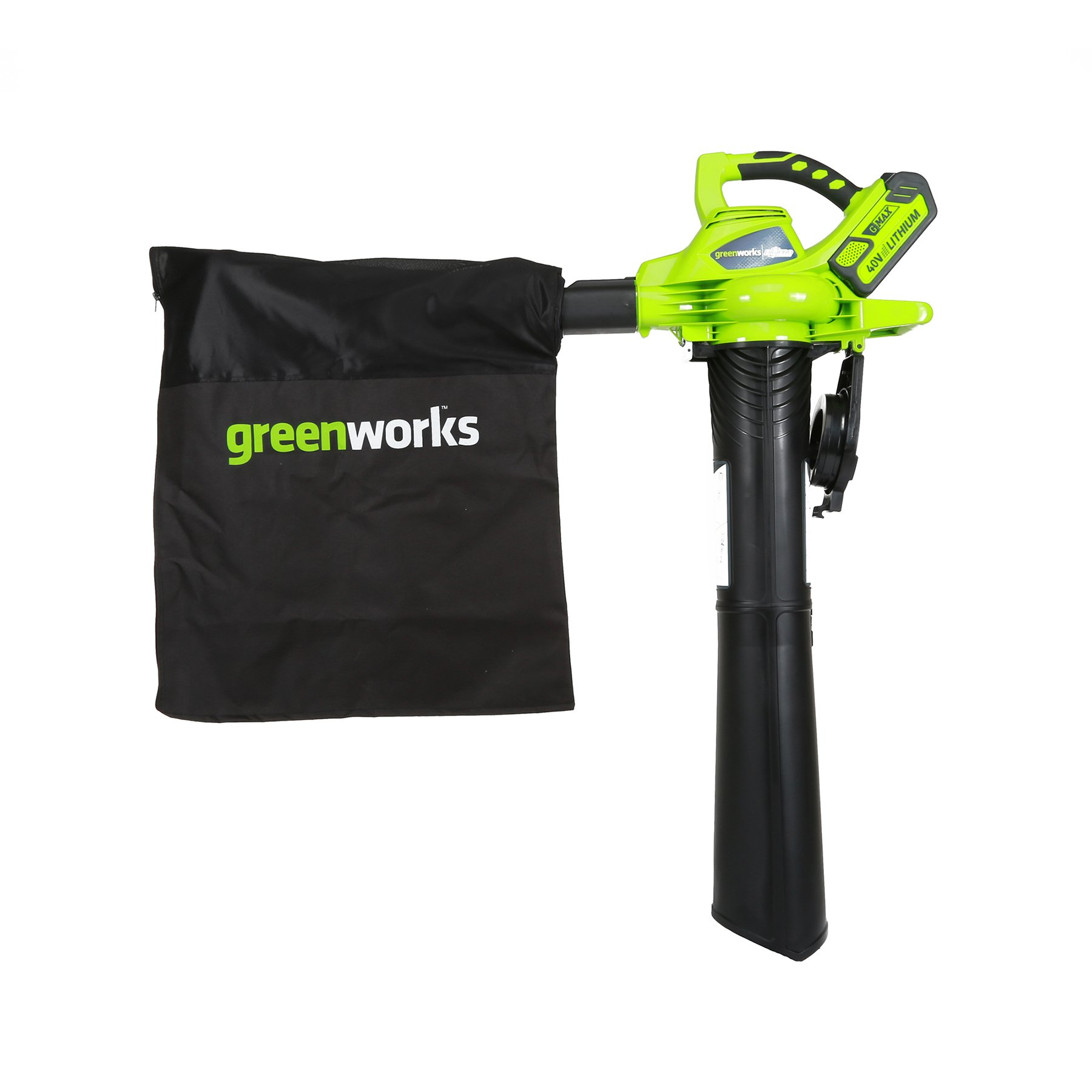 Greenworks 40V 185 MPH Variable Speed Cordless Blower Vacuum, 4.0 AH Battery Included 24322 by Greenworks (Image #7)