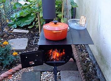 Gas Oder Holzkohlegrill Yorkshire : Dunster house hope bbq heizofen outoor tragbarer camping kocher