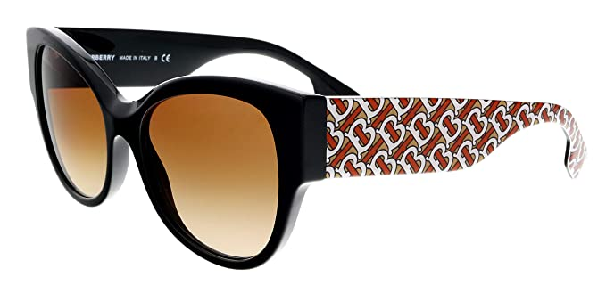 Burberry Gafas de Sol B Her BE 4294 Black Red/Brown Shaded ...