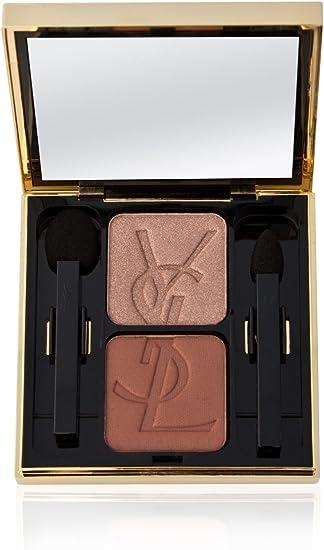Yves Saint Laurent Sombras de ojos Dúo 7 Antique Gold / Bronze Green: Amazon.es: Belleza