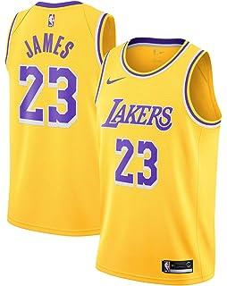 Outerstuff Boy s Los Angeles Lakers Lebron James Icon Edition Swingman  Jersey c0e81ff55