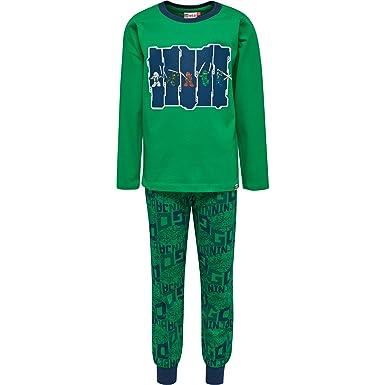 LEGO Wear 19803-Conjuntos de Pijama Niños Verde (Green 867 ...