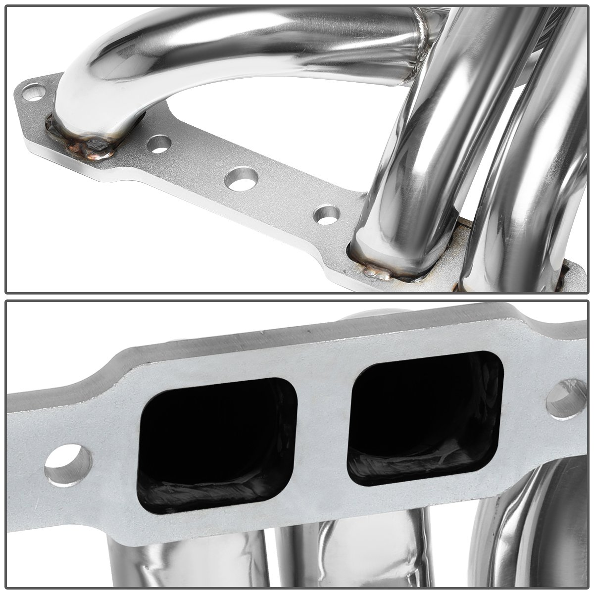 For Dodge Ramcharger//W-Series Plymouth Trailduster V8 BBS Stainless Steel Long Tube Exhaust Header Manifold