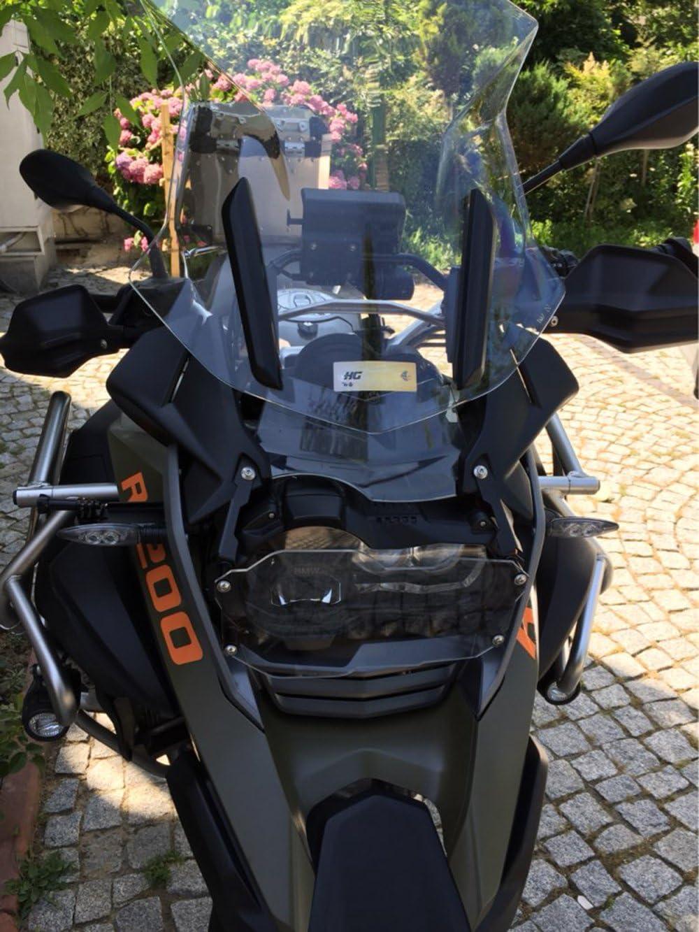 Motorrad Schutzzubehör Frontscheinwerfer Schutzhülle Für R1200gs Lc Adv 2013 2014 2015 2016 Transparent Auto