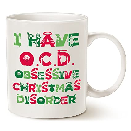 cute christmas gifts tacky obsessive christmas disorder coffee mugs best christmas gifts for family