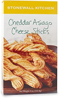 product image for Stonewall Kitchen Cheddar Asiago Cheese Sticks, 4 Ounce Box