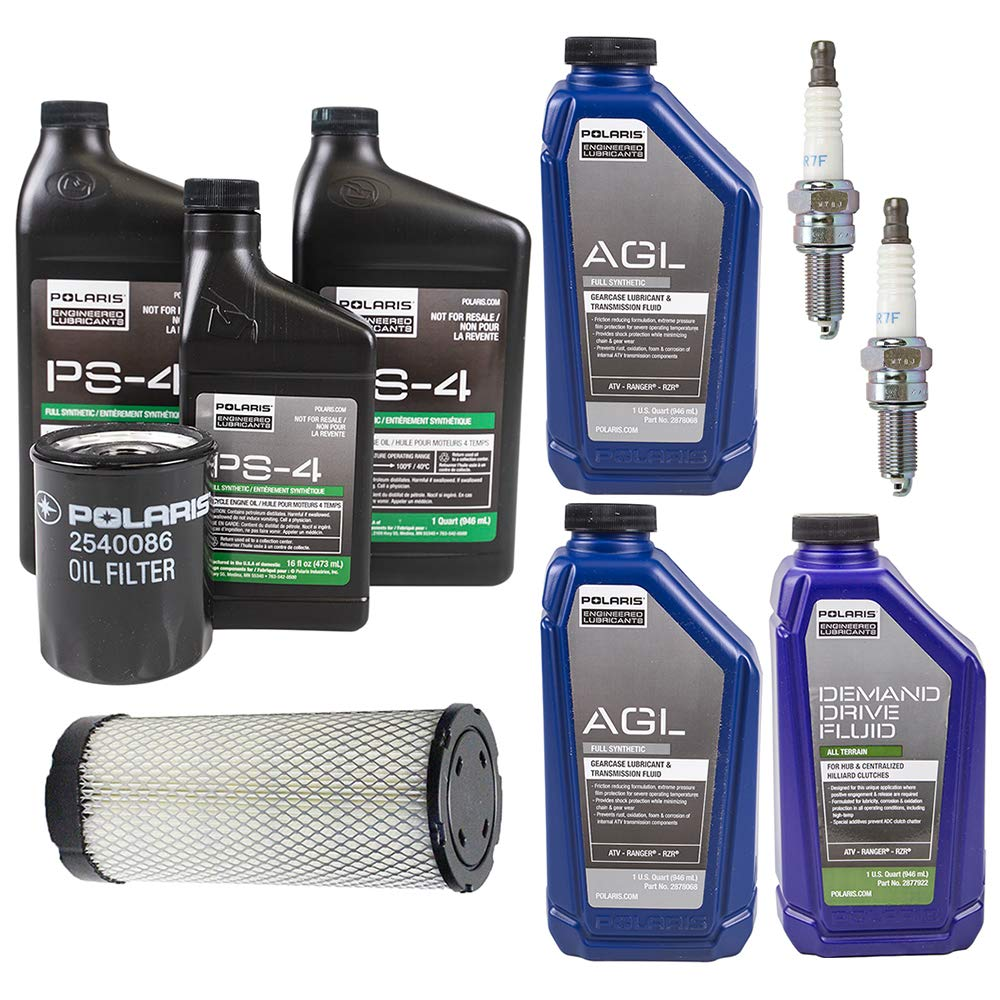 2015-2017 POLARIS RZR 900/S Complete Service Kit Oil Change Air Filter by Polaris