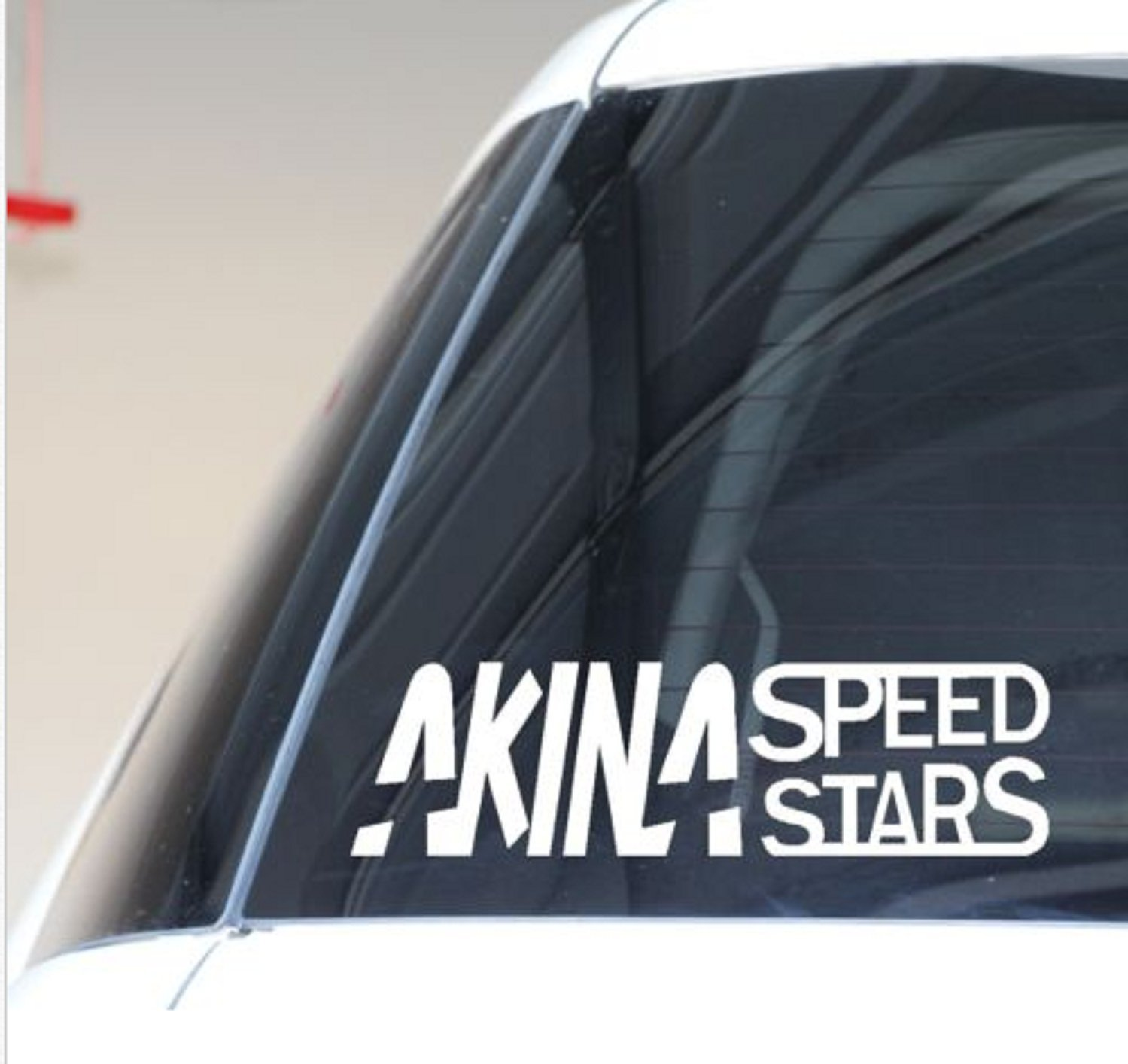 Amazon com usa premium store akina speed stars decal vinyl sticker initial d ae86 jdm racing sport drift 11w x 3 h black sports outdoors