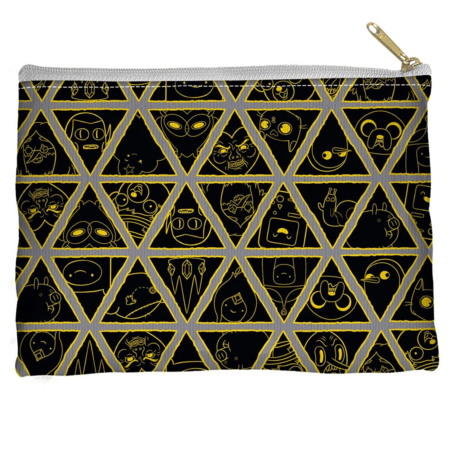 Adventure Time Triangles Accessory Pouch