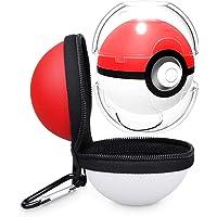 Carrying Case for Nintendo Switch Pokeball Plus, Tendak Portable Travel Pokeball Accessory Case Bag for Pokémon Lets Go Pikachu Eevee Game