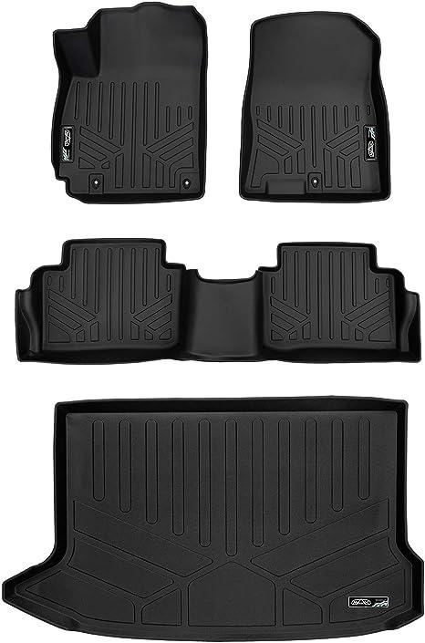 MAX LINER B0371 Custom Fit Floor Mats 2nd Row Liner Black for 2018-2019 Hyundai Kona